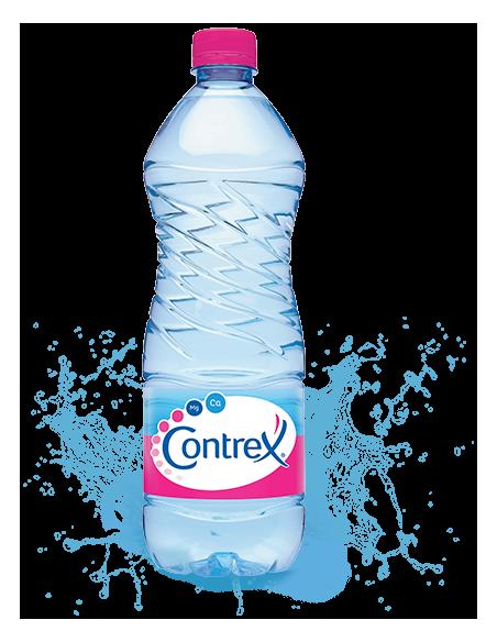 Eau minerale Contrex pack ou bouteille