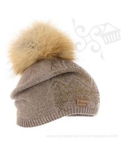 Bonnet Stardust blanc Herman 1874 - Z'heros concept Biarritz - acheter bonnet basque