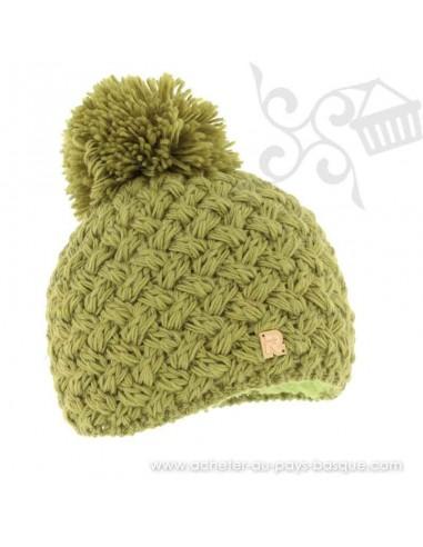 Bonnet vert ICE 8100 Herman 1874 - Z'heros concept Biarritz - acheter bonnet basque