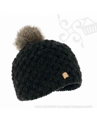 Bonnet gris ICE 8519 Herman 1874 - Z'heros concept Biarritz - acheter bonnet basque