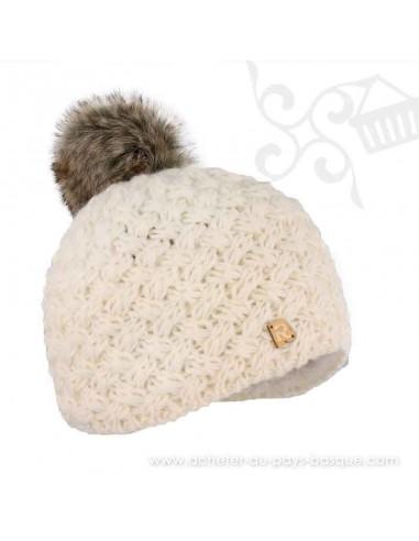 Bonnet blanc ICE 8519 Herman 1874 - Z'heros concept Biarritz - acheter bonnet basque