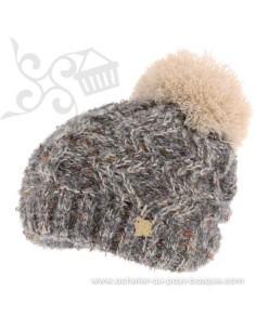 Bonnet beige ICE 8516 Herman 1874 - Z'heros concept Biarritz - acheter bonnet basque