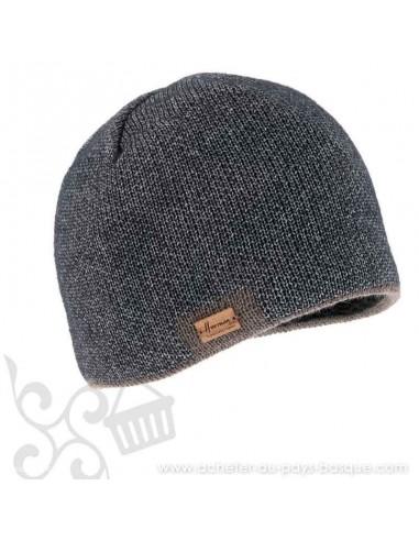 Bonnet taupe homme Marius Herman 1874 - Z'heros concept Biarritz - acheter bonnet basque
