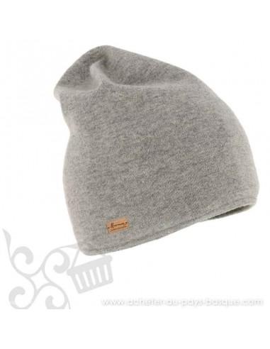 Bonnet gris Massak Herman 1874 - Z'heros concept Biarritz - acheter bonnet basque