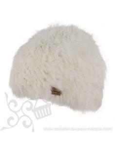 Bonnet blanc femme onyx Herman 1874 - Z'heros concept Biarritz - acheter bonnet basque