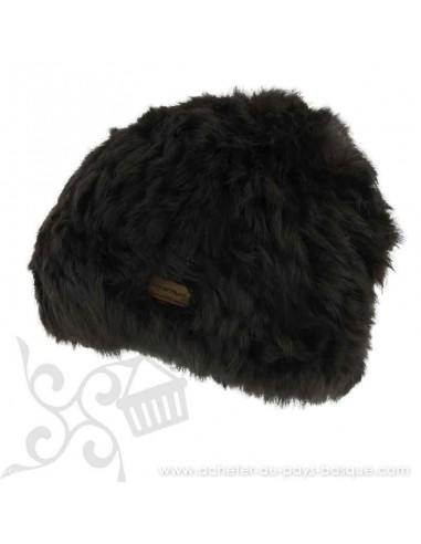 Bonnet marron femme onyx Herman 1874 - Z'heros concept Biarritz - acheter bonnet basque