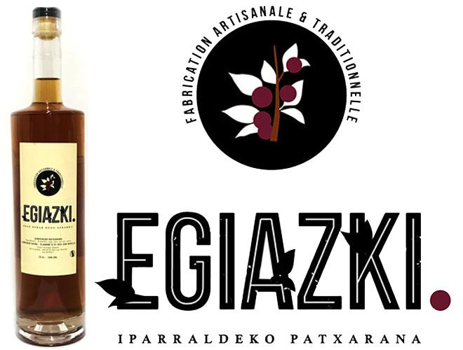 Egiazki Saint Pée sur Nivelle - Fabricant de Patxaran, Manzana, patxaka, et alcools basques